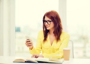 SMS educación