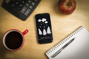 SMS en navidad
